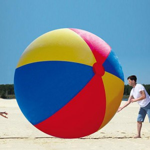 Ballon de plage géant de 3 mètres