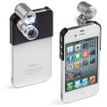 Microscope pour iPhone grossissement x60 avec LED