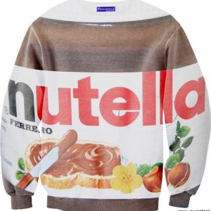 Sweat pot de Nutella