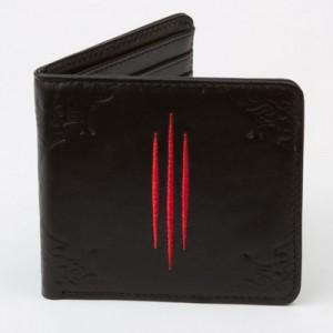 Portefeuille cuir logo Diablo 3