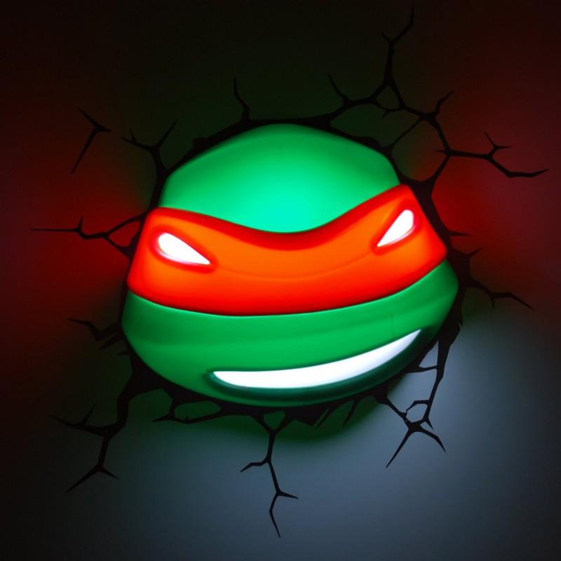 Lampe tortue ninja d co maison - Lampe chauffante tortue ...