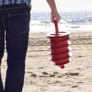 Coffre-fort de plage