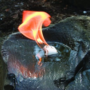 L'allume feu qui marche dans l'eau