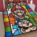 Parure de lit Super Mario - Mario et Luigi