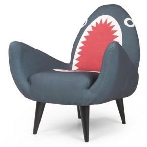 Rodnik, le fauteuil requin