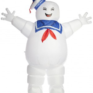 Costume gonflable Marshmallow SOS Fantômes ghostbusters
