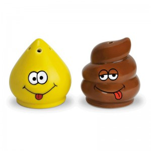 Sel et poivre pee and poo