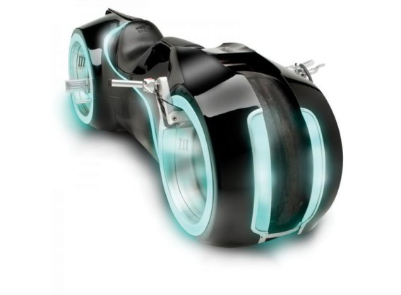 The Light Cycle : La moto de Tron en vrai
