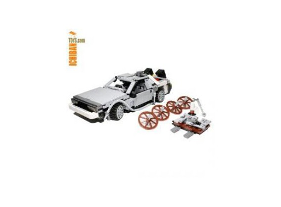DeLorean en lego