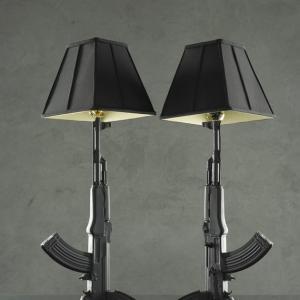 La lampe de salon ak 47