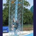 Mur d'escalade pour piscine