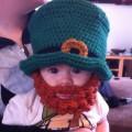 Chapeau barbe pour bébé