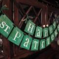 Bannière décorative pour la Saint-Patrick