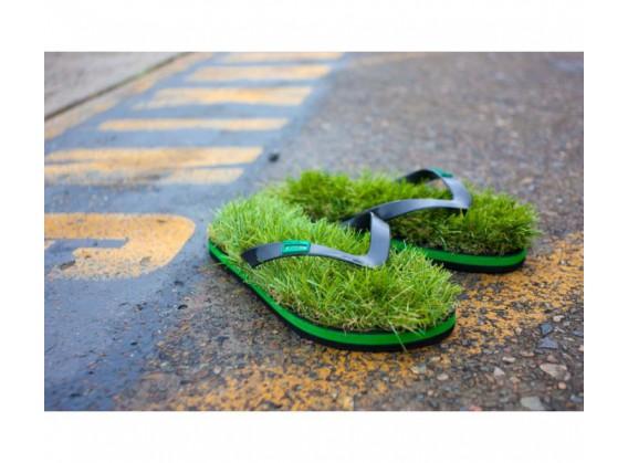 Les tongs herbes