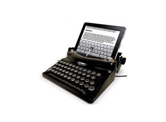 Machine à écrire iPad