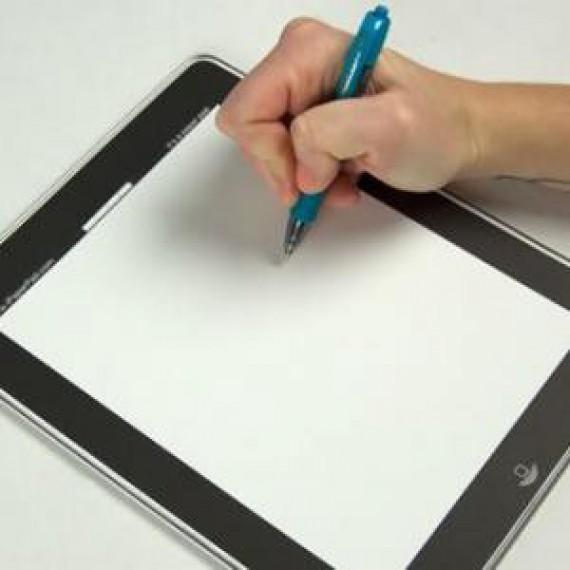 iPad de pauvre en papier