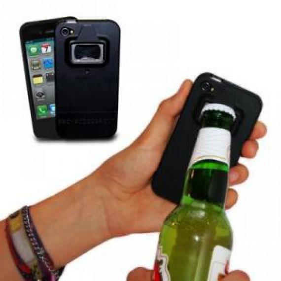 Coque iPhone 4 décapsuleur