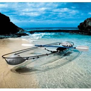 Canoë kayak transparent Molokini