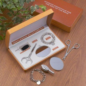Le kit d'entretien pour bijoux de famille