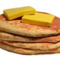 Pouf pancakes de salon