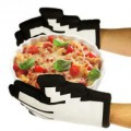 Gants de cuisine pixels
