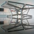 Billard transparent en verre