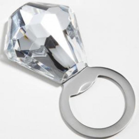 Le décapsuleur bague diamant