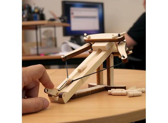 Baliste en bois de bureau