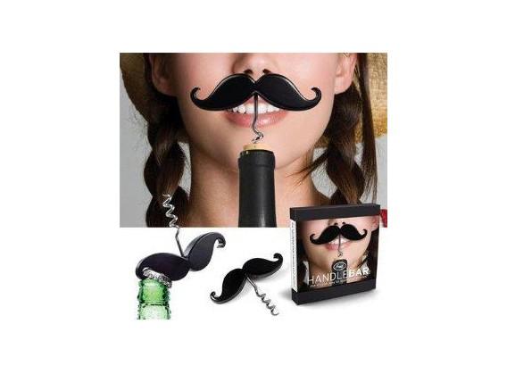 Le tire bouchon moustache
