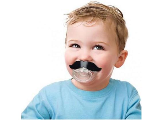 Tétine moustache pour bébé