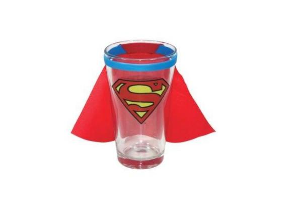 Cape de héros pour verre