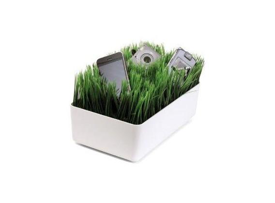La station de rechargement pelouse