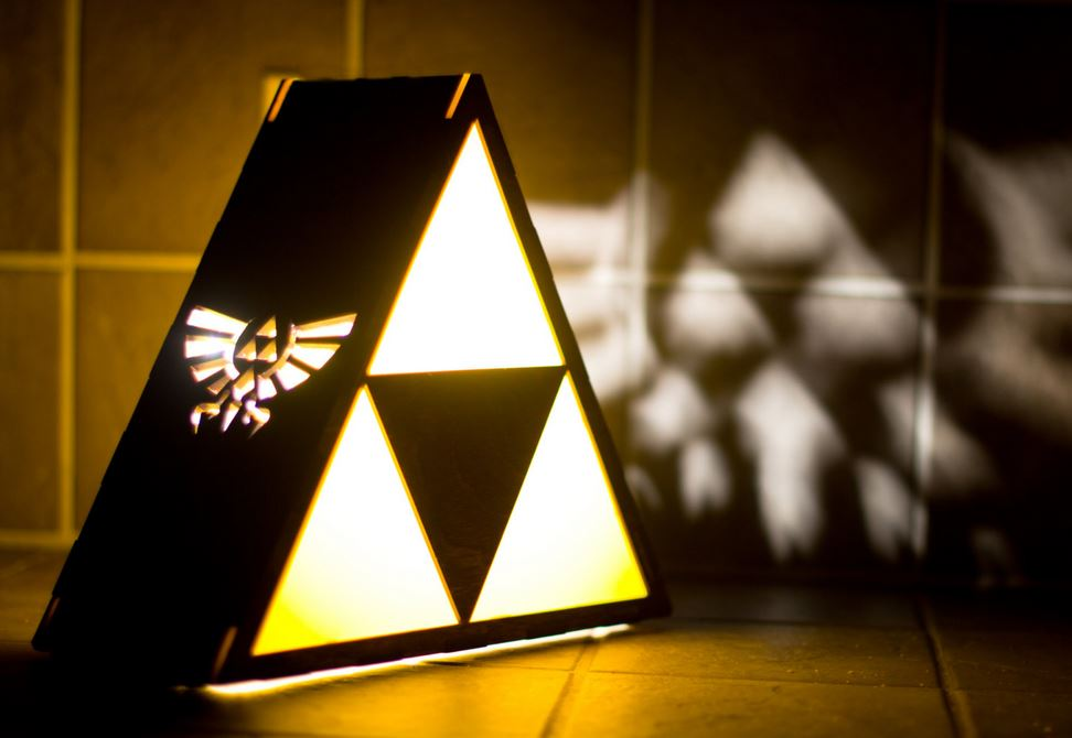 Lampe de chevet geek