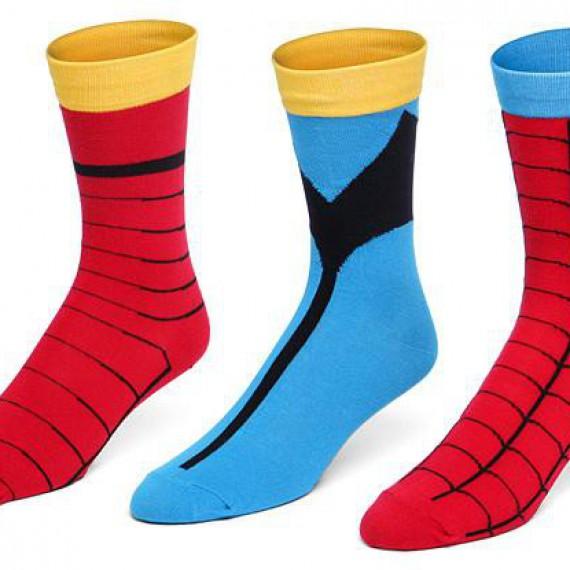 Les chaussettes de super-héros