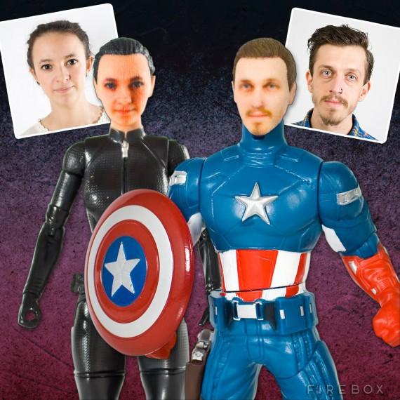 Figurines de Super-héros