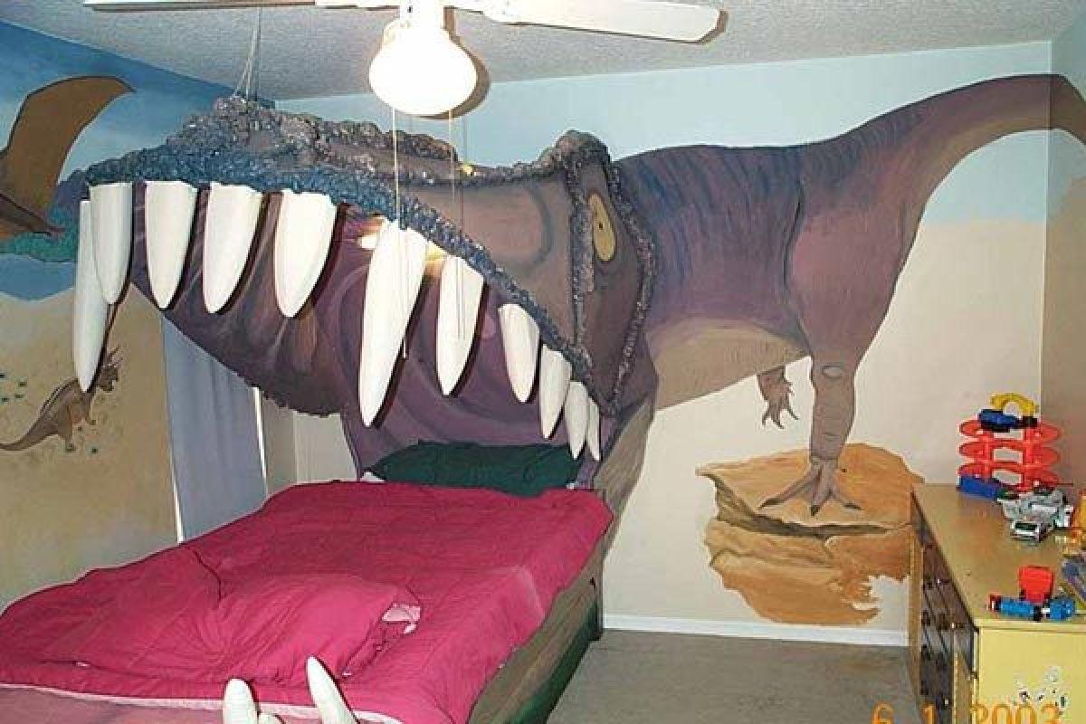 Jurassic Bed Chambre Enfant