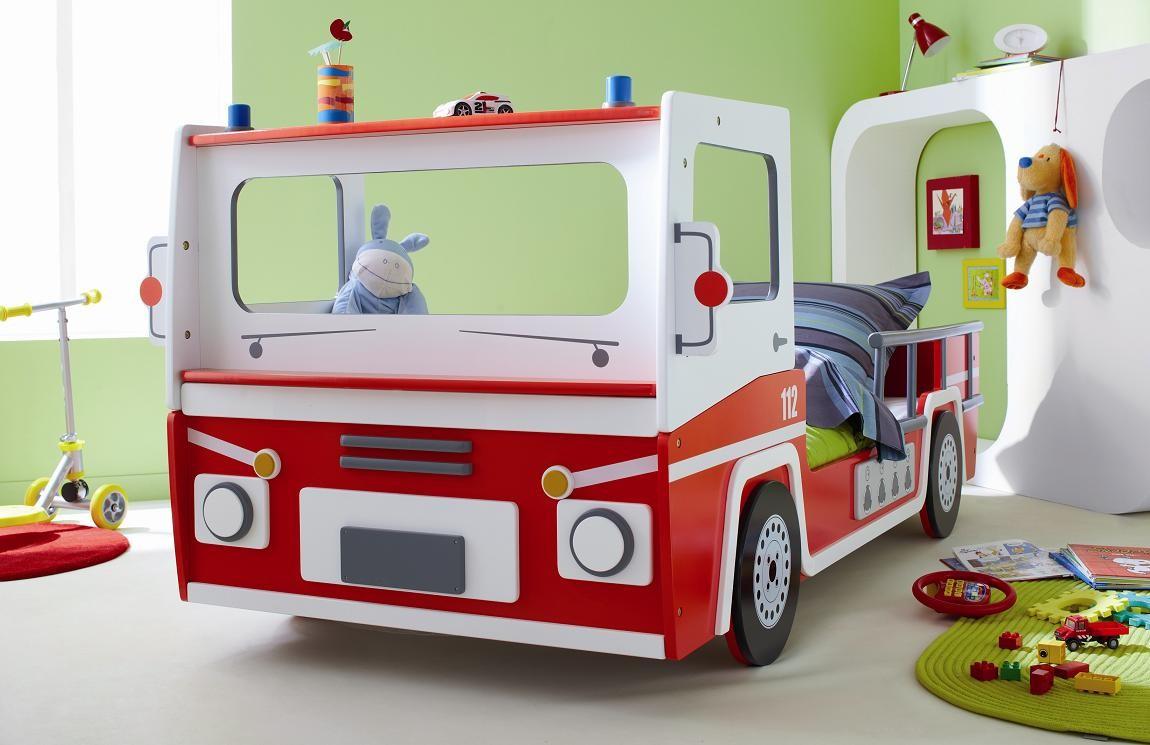D couvrez 15 des plus belles chambres d 39 enfants du monde pigsou mag - Lit enfant camion de pompier ...
