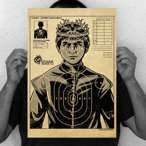 La cible roi Joffrey