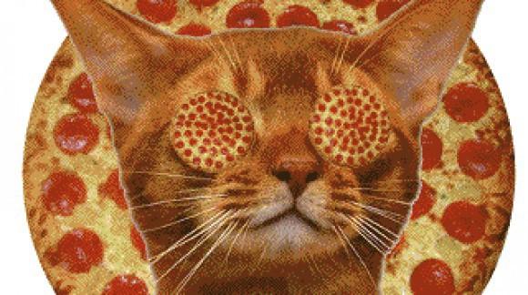 Pizza-ception, une pizza emballée dans une autre pizza