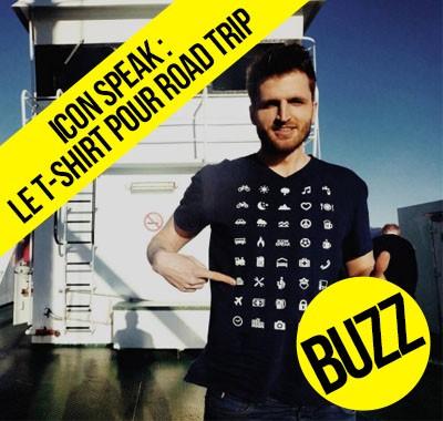 Icon Speak le t-shirt pour vous faire comprendre partout dans le monde sans dire un mot