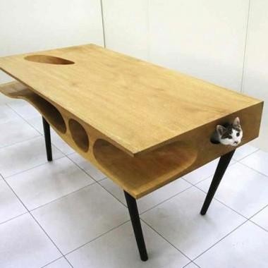 Table de jeu pour chat