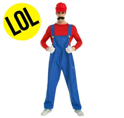 Costume Mario plombier