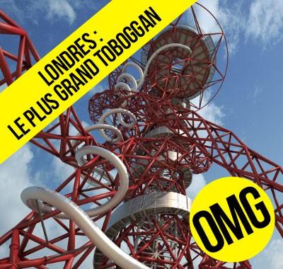 Le plus grand toboggan du monde est à Londres