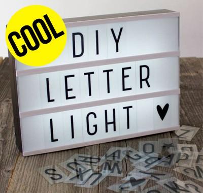 Lampe à customiser Lightbox A4