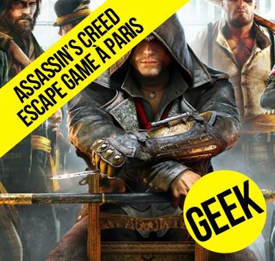 Assassin's Creed la confrérie ouvre un escape game à Paris