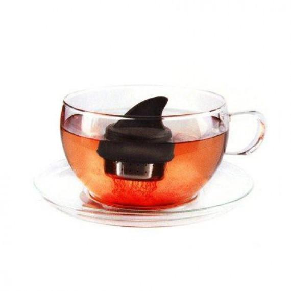 Boule à thé aileron de requin