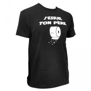 T-Shirt J'essuie ton père