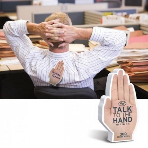 Post-it Parle à ma main