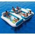 L'ile flottante personnelle rafting