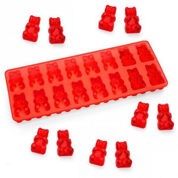Le bac à glaçons bonbons oursons